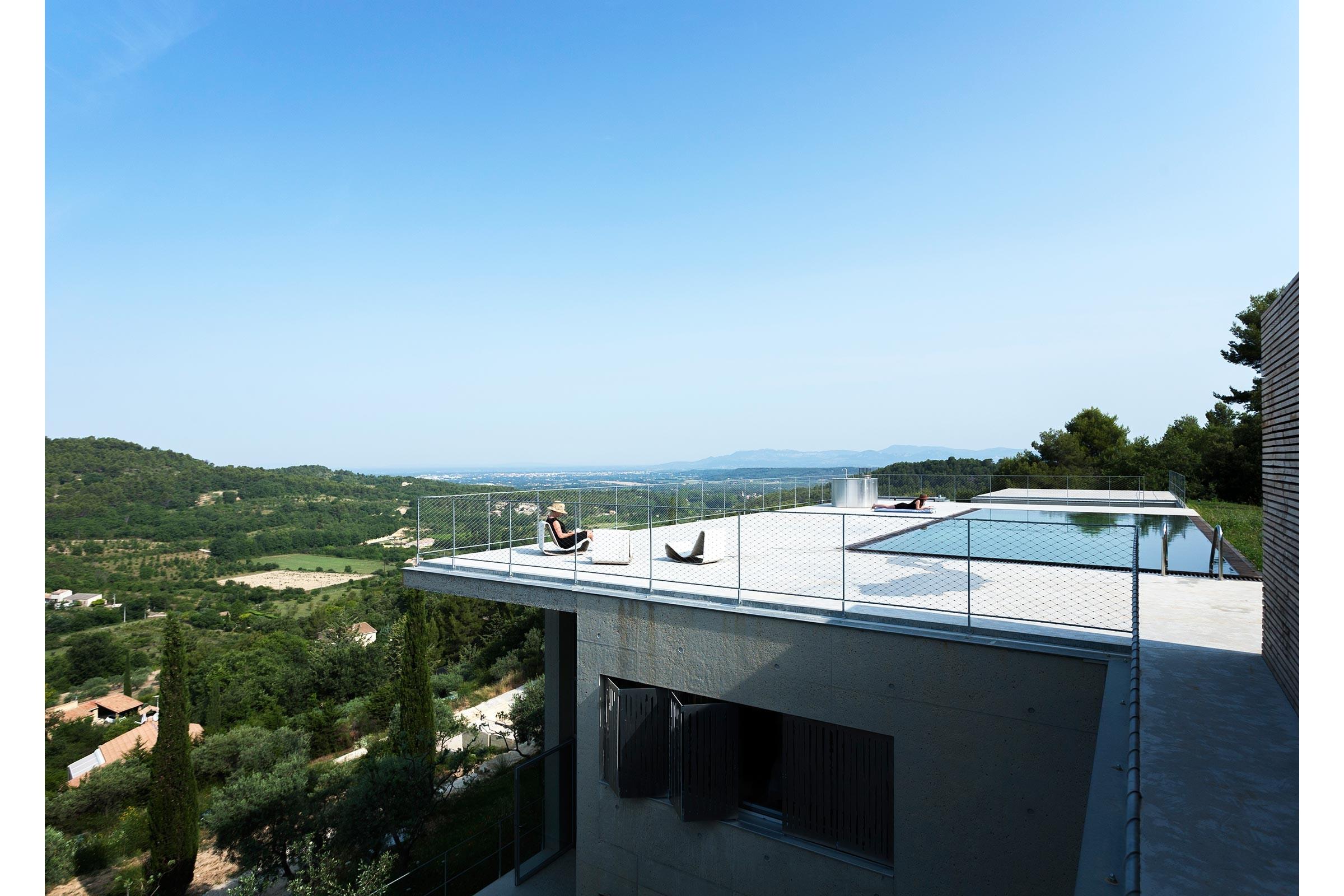 maison vue panoramique