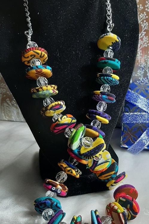 Glass Multi-color Necklace