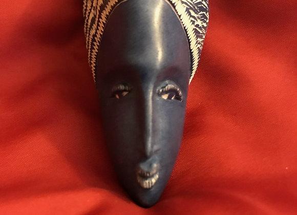 Stone Portrait - Ebony Beauty