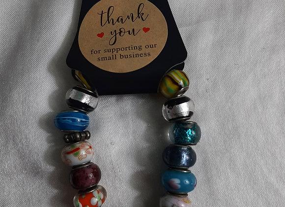 Glass Multicolored Bracelet
