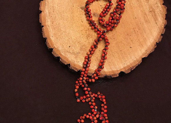 Small organic beaded neckless