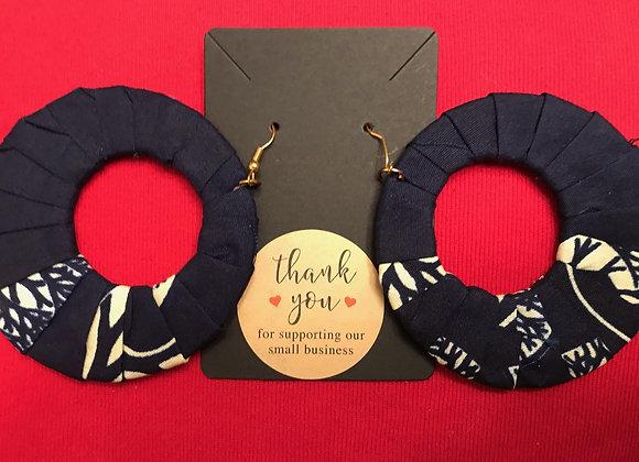 Shaped Fabric Earrings