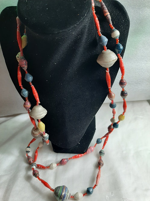 Colorful Seashell Necklace