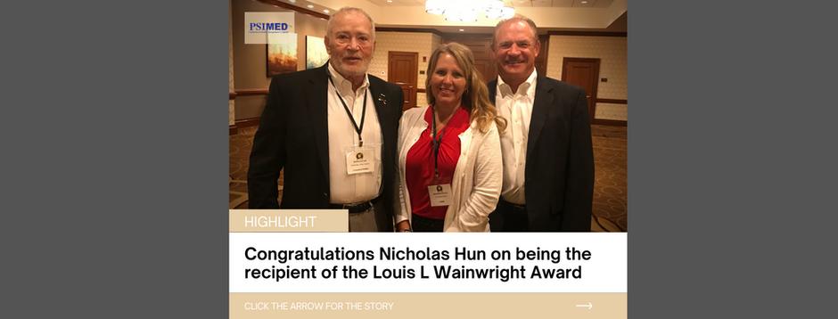 Congratulations Nicholas Hun