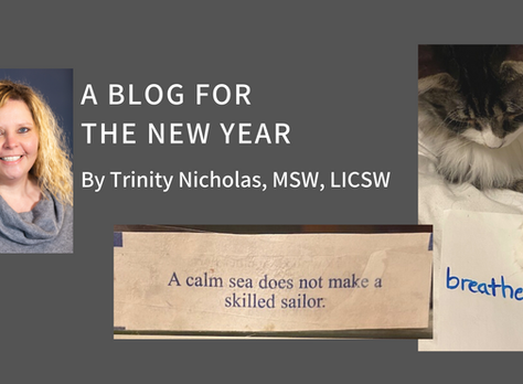 A Blog For The New Year