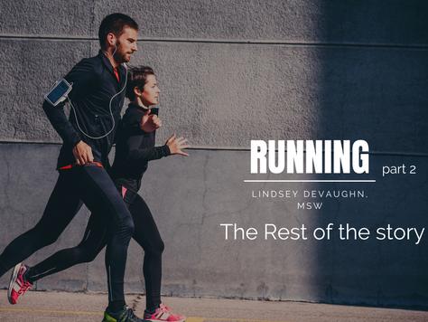Running- part 2