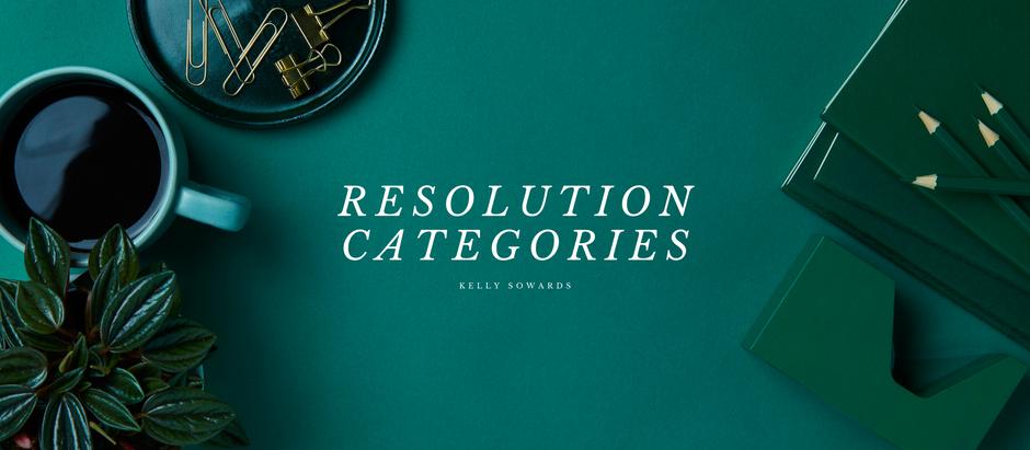 Resolution Categories
