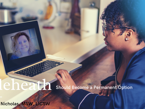 Telehealth Should Become a Permanent Option