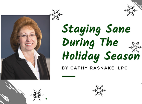 Staying Sane During the Holiday Season