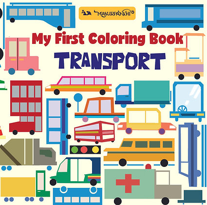 My First Colouring Book: Transport
