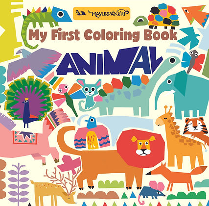 My First Colouring Book: Animal