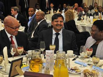 Guptas toxic influence