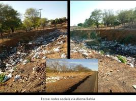 Serra do Ramalho: moradores reclamam de lixões próximos à zona urbana