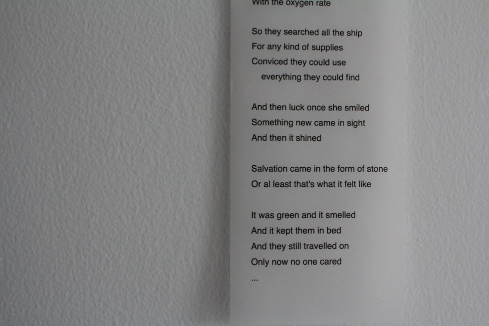 Ode to cyprus amber. Salvation in Stone, lyrics (2006) by System Shock (found on the Internet)