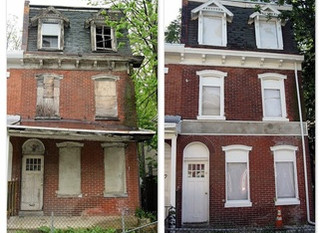 Abandoned building remediations and crime