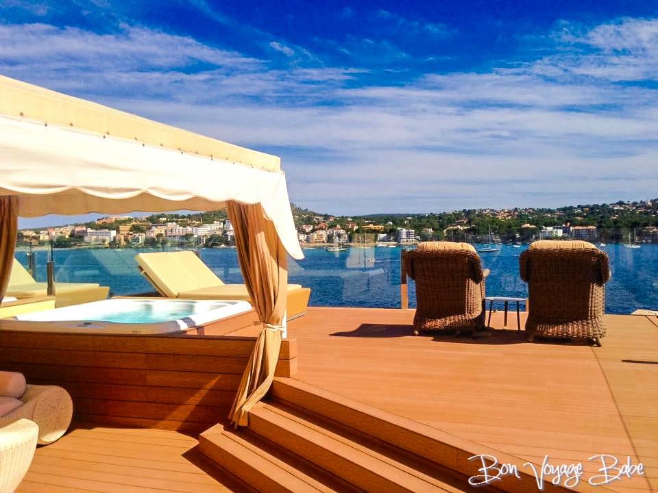 Private terrace Spain Honeymoon