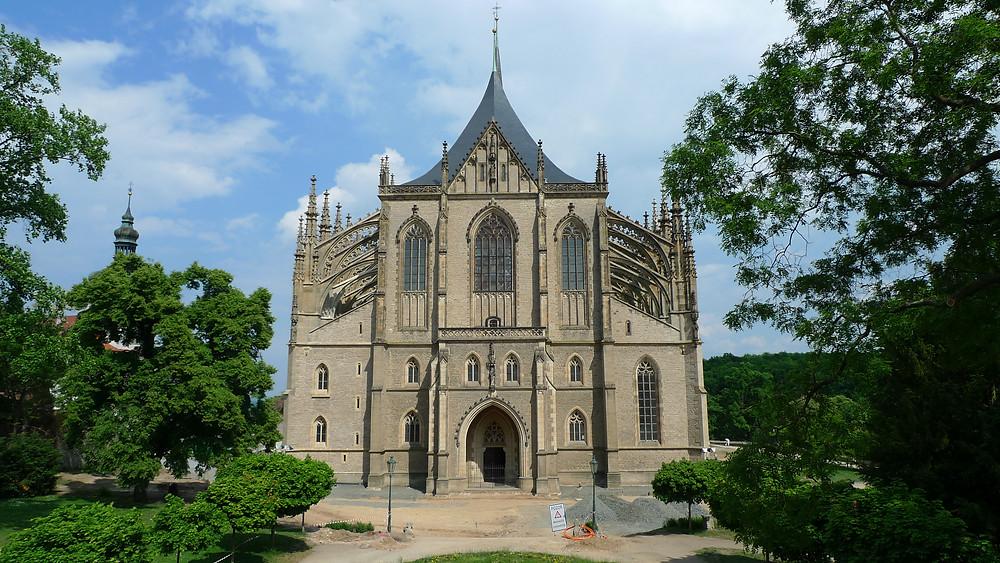 St. Barbara Cathedral Kutna Hora