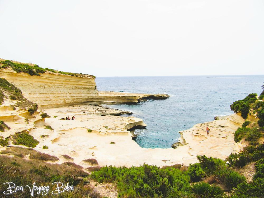 St. Peter's Pool near Marsaxlokk, Malta