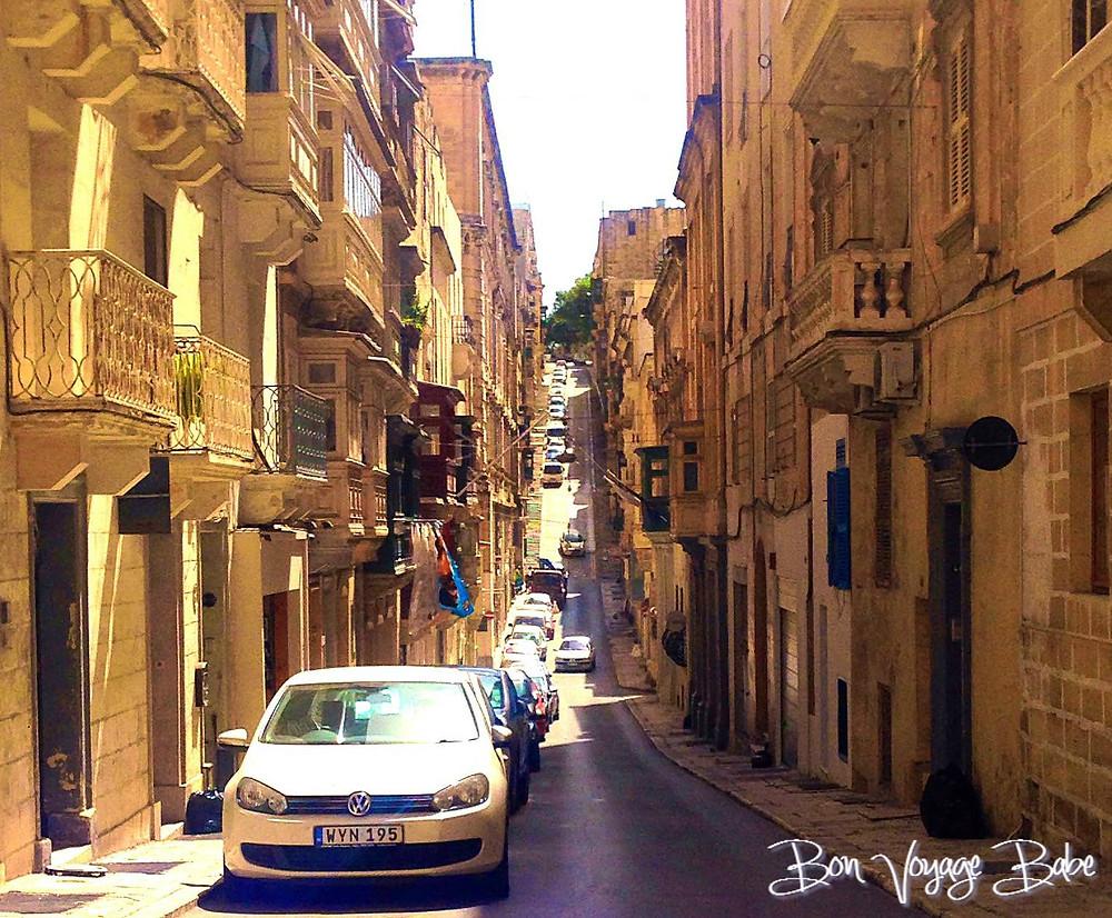 Strait Street, Valletta Malta