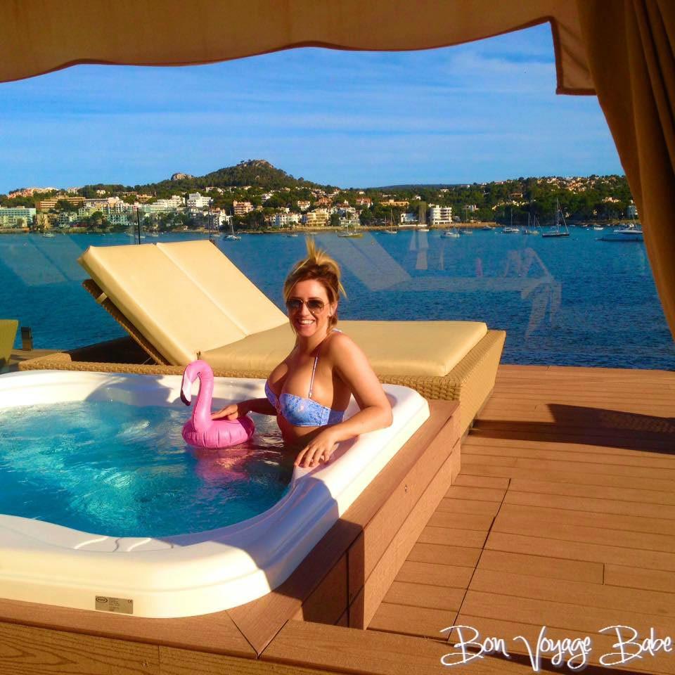 Mallorca Private terrace hotel suite