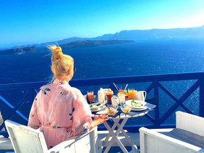 Scenic Views from Santorini
