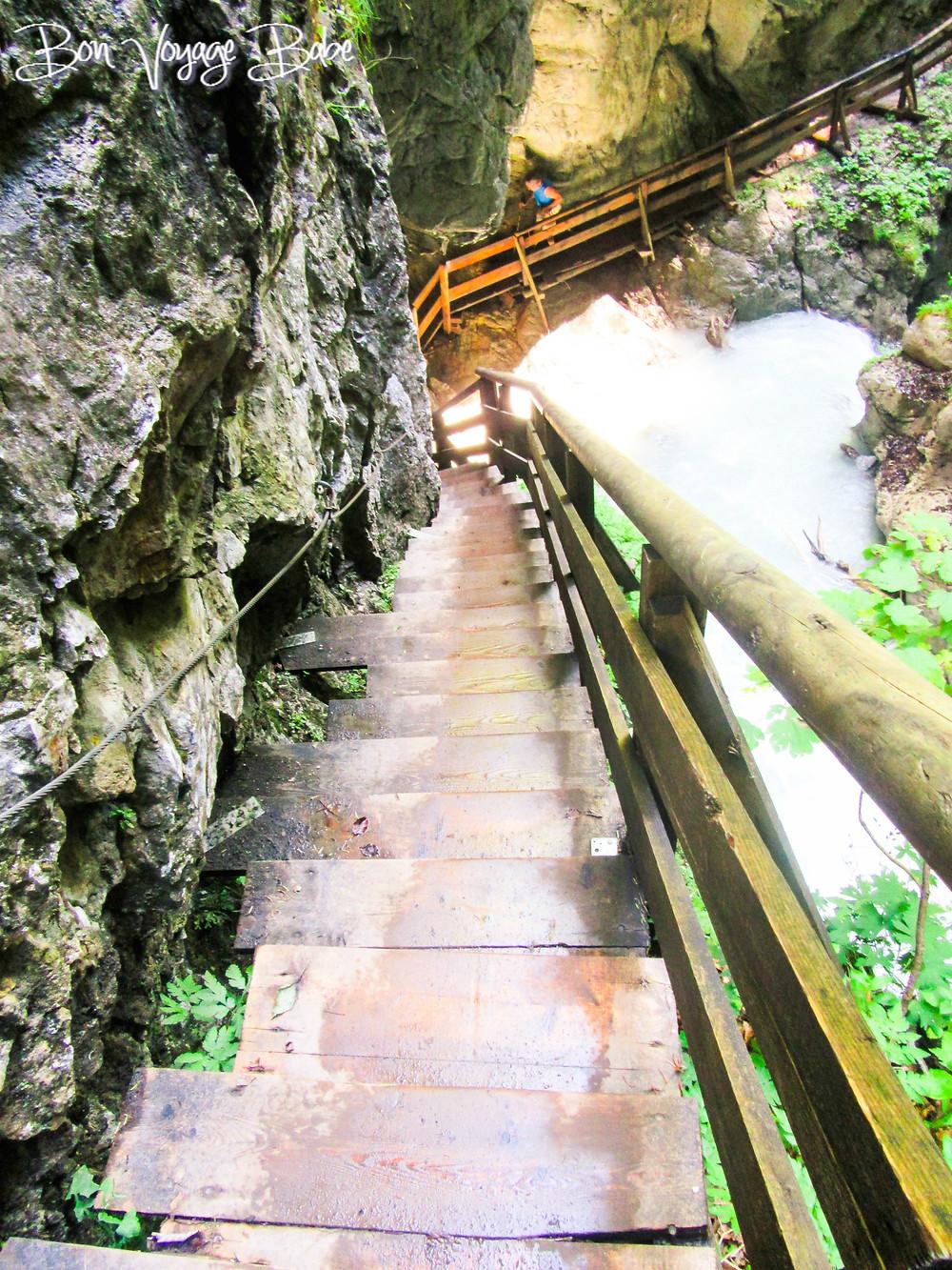 Wolfsklamm Gorge Stans Austria