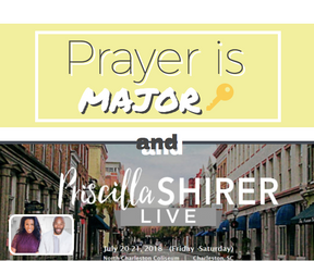 Prayer is MAJOR 🔑+ Priscilla Shirer is coming to Charleston!