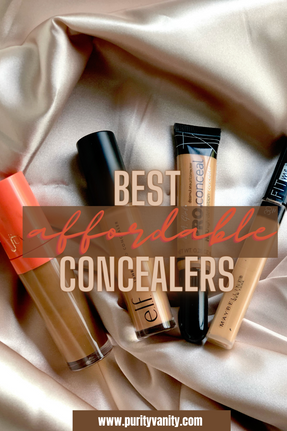 BEST AFFORDABLE CONCEALERS (must try!)