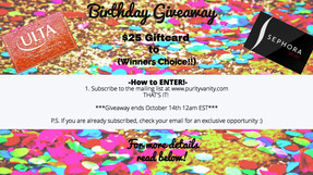 Oh Snap it's GIVEAWAY time! [CLOSED]