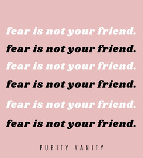Fear is not your friend | How to overcome fear