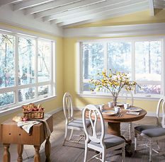 Picture of awning windows.