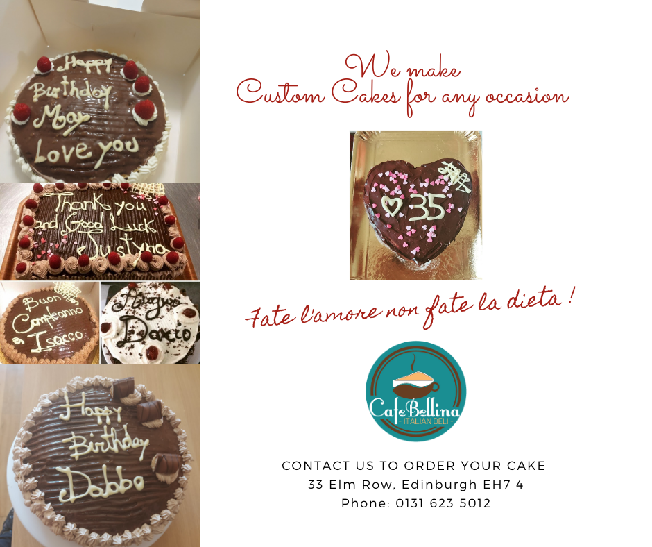 Order your customised party cake