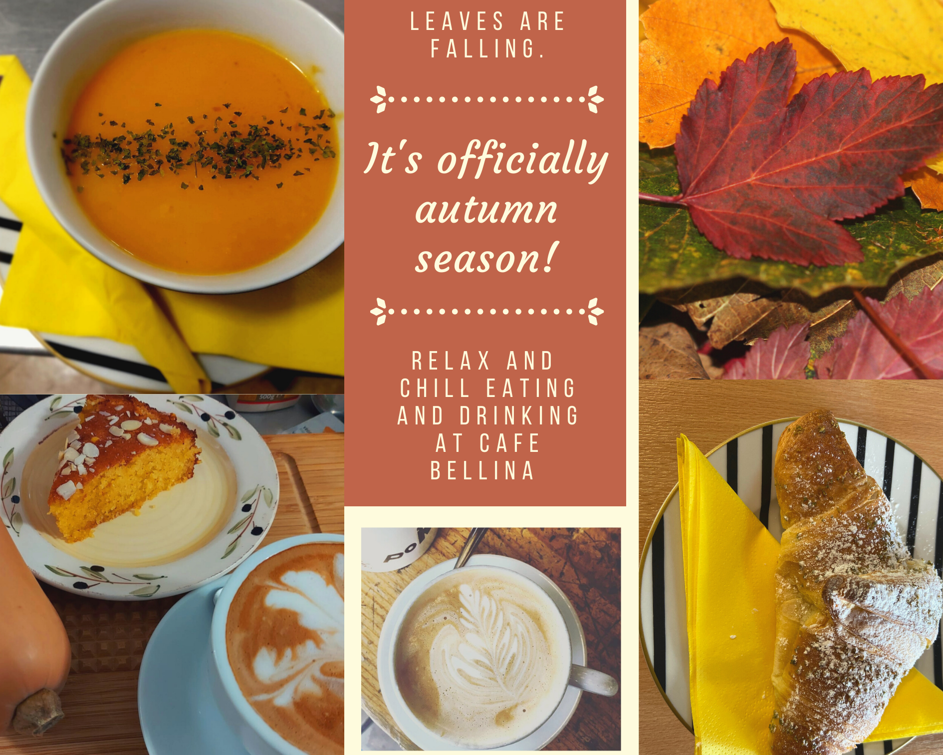 It's officially autumn season!