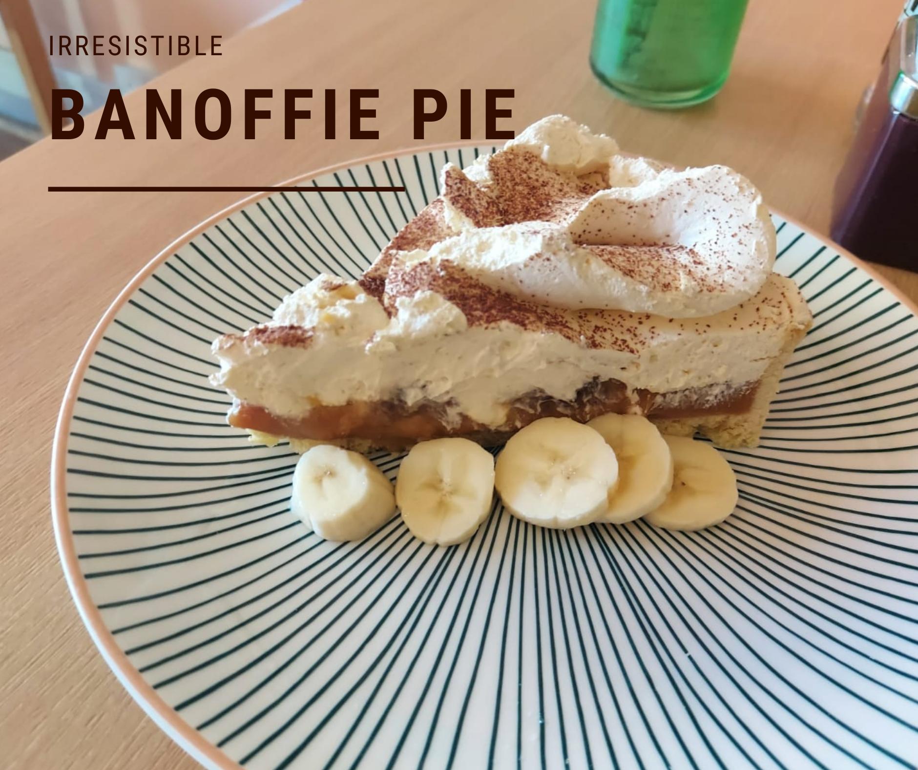 Banoffie pie cake