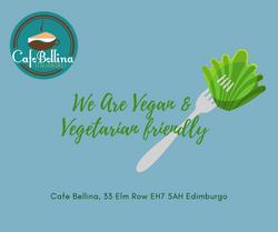 We are vegan friendly