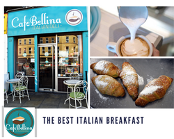 cafe Bellina pastry selection