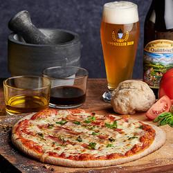 Brauerei Pizza Alpstein Pancetta