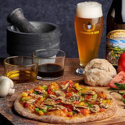 Around the World - Brauerei Pizza Asian Style Sweet Chili