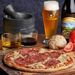 Brauerei Pizza Salami Prestige
