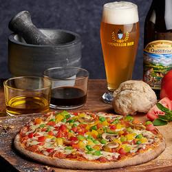 Brauerei Pizza Verdura