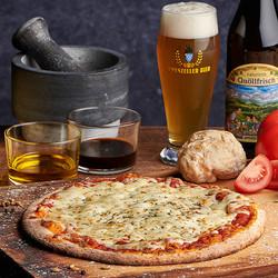 Brauerei Pizza Margherita