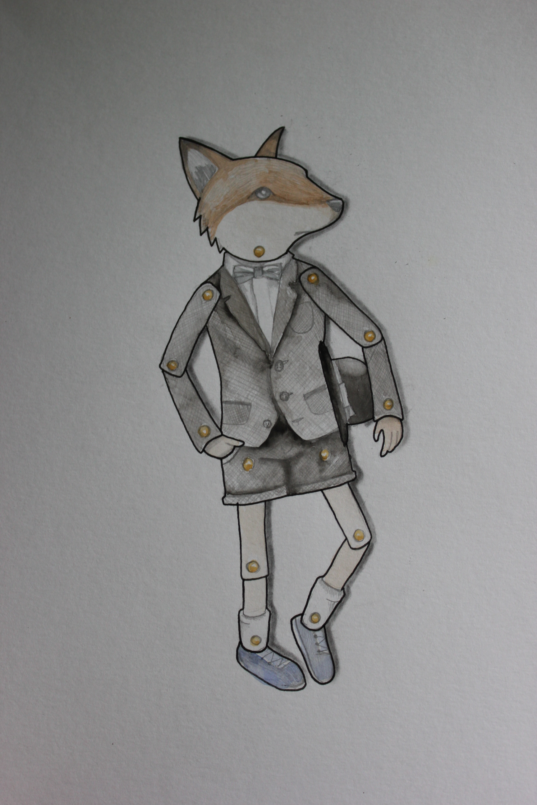 Dapper fox
