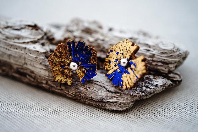 Celulas pequeñas · dorado y azul