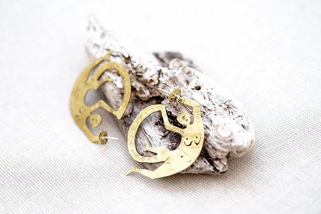 Argollas humano bronce · pequeñas