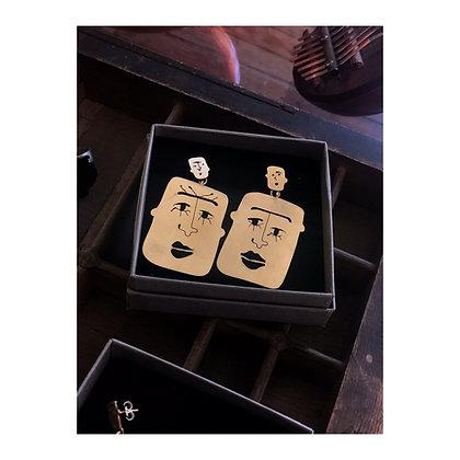 Earrings faces