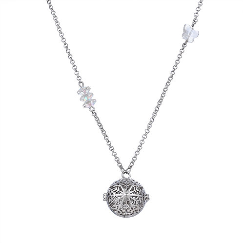 Crystal Snowflakes Necklace