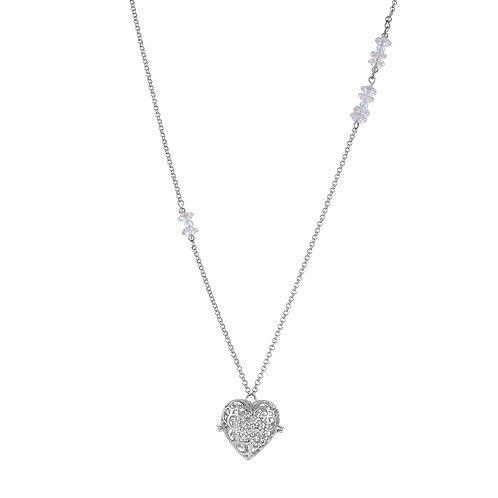 Heart Crystal Stone Necklace