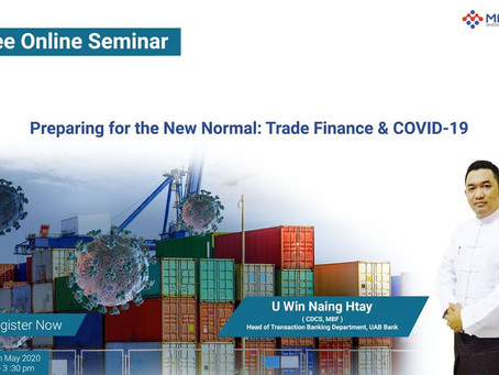 Preparing for the New Normal: Trade Finance & COVID-19