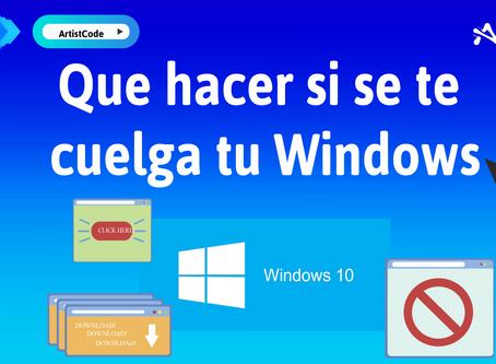 ¿Qué hacer si se cuelga tu Windows? Prueba este atajo para resolverlo.