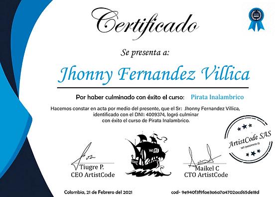 Jhonny Fernandez Villica Pirata 9e940f3f